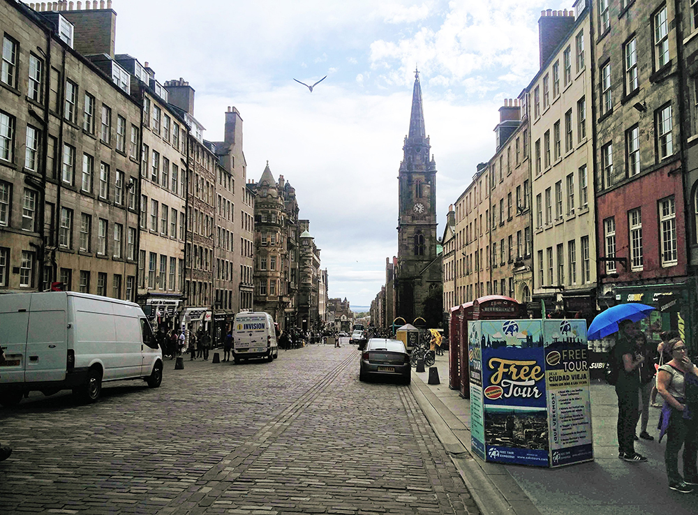 Royal Mile Edimbourg Edinburgh