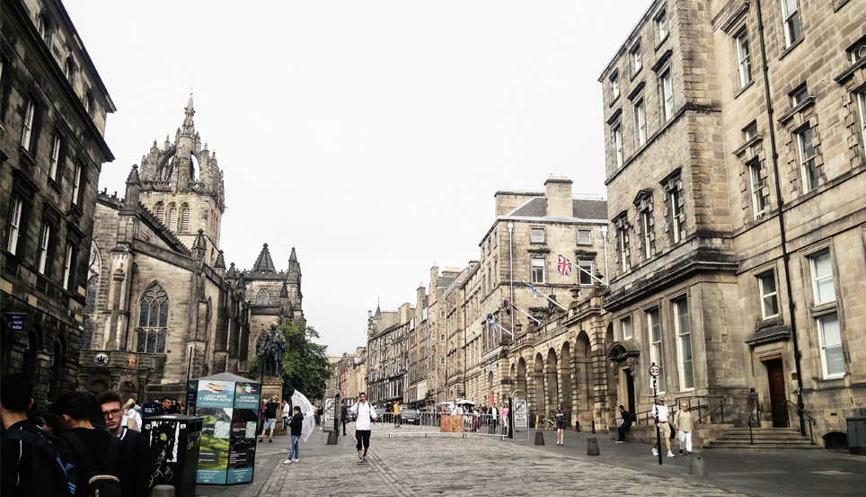 royal Mile Edimbourg