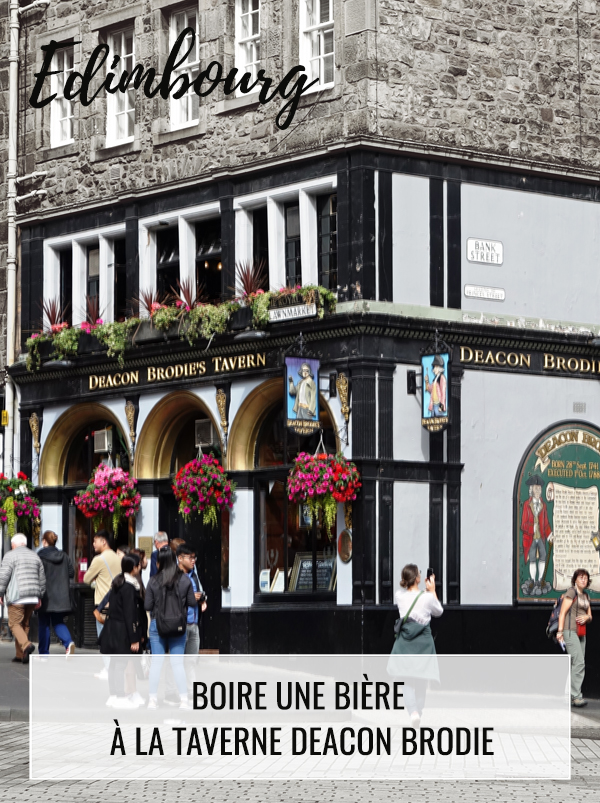 Taverne Deacon Brodie Royal Mile