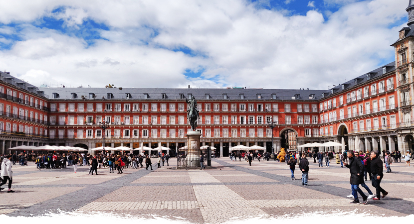 Visiter la plaza mayor de Madrid