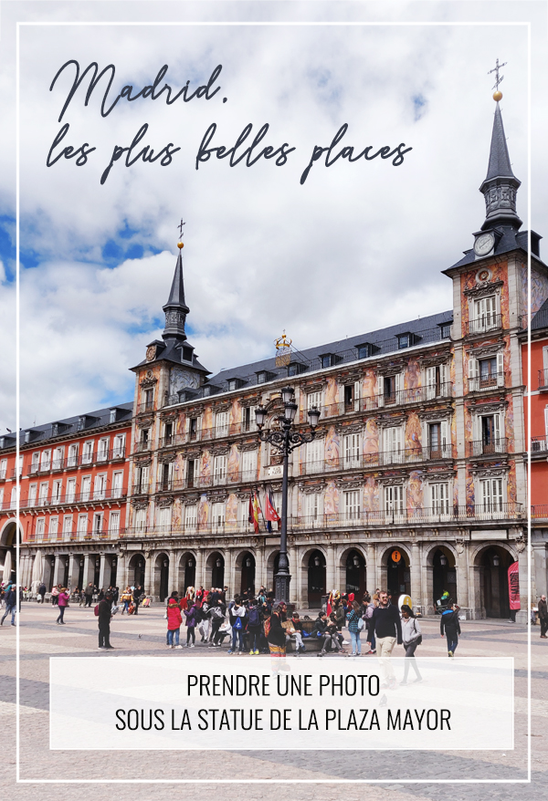 Pinterest Madrid : visiter la place Mayor (plaza mayor - Espagne)